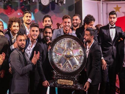 احتفالية تتويج الأهلي بدرع الدوري 41