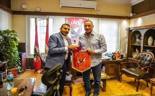 الخطيب يستقبل خالد الجعبري
