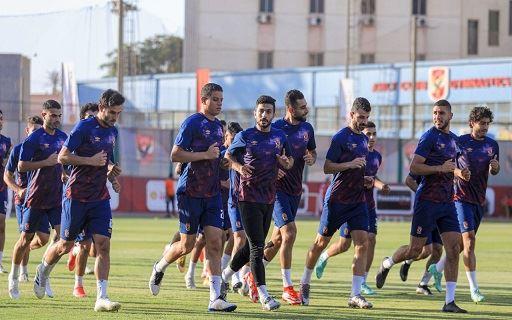 الدوري الممتاز| فريق الكرة ينهي الاستعداد لمواجهة البنك الأهلي