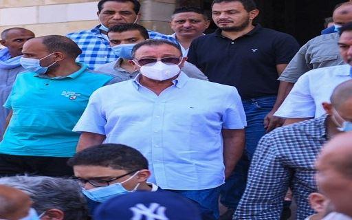 الخطيب يشارك في تشييع جثمان الإعلامي الكبير حمدي الكنيسي